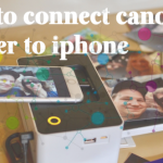 How to connect canon printer to iphone